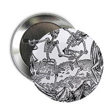 "Grave dancing 2.25"" Button"