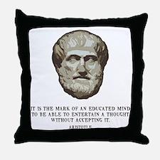 aristotle-edmind-LTT Throw Pillow