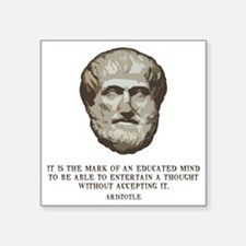 "aristotle-edmind-LTT Square Sticker 3"" x 3"""