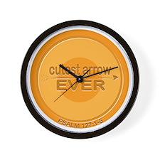 Cutest Arrow Ever Wall Clock