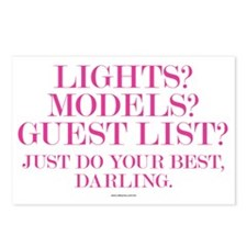 Do Your Best, Darling Postcards (Package of 8)