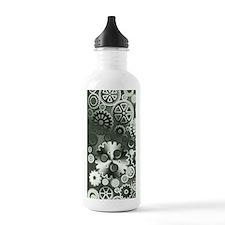 Steel gears Water Bottle