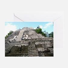 "Ancient Mayan Ruins ""Lumanai"" in Bel Greeting Card"