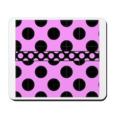 CP Duvet polka dots duvet 4 Mousepad
