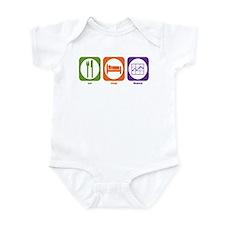 Eat Sleep Finance Infant Bodysuit