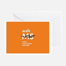 Walk to create a world free of MS- o Greeting Card