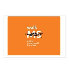 Walk to create a world fr Postcards (Package of 8)