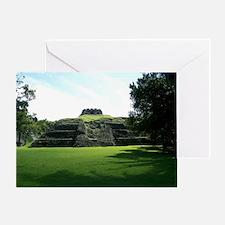 Xunantunich Mayan Ruin Site - Belize Greeting Card