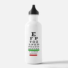 CP duvet cover eye cha Water Bottle