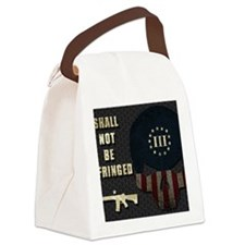 Shall Not Be Infringed - Hex Canvas Lunch Bag