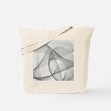 fractal silver Tote Bag