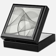 fractal silver Keepsake Box