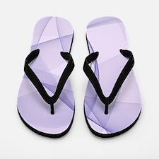 fractal purple Flip Flops