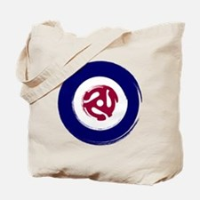 Retro Mod Target with 45 rpm adaptor Tote Bag