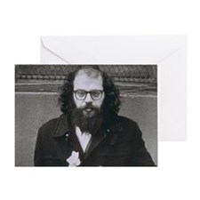 Allen Ginsberg. Greeting Card