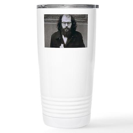 Allen Ginsberg. Stainless Steel Travel Mug
