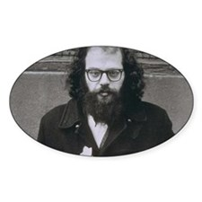 Allen Ginsberg. Decal