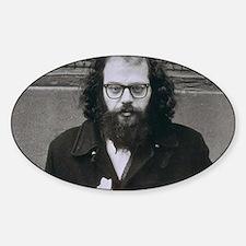 Allen Ginsberg. Decal