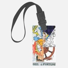 Wheel of Fortune Tarot Luggage Tag