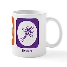 Eat Sleep Flowers Small Mug
