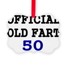 OFFICIAL OLD FART 50 Ornament