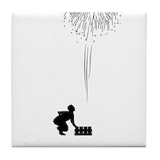 Pyrotechnician-05-A Tile Coaster