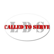Called To Serve Wall Decal
