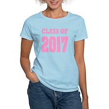 Class of 2017 (pink) T-Shirt