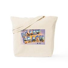 Folly Beach South Carolina Tote Bag