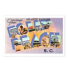 Folly Beach South Carolina Postcards (Package of 8