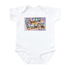 Folly Beach South Carolina Infant Bodysuit