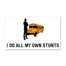 School-Bus-Driver-03-A Car Magnet 20 x 12