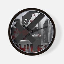 XPhiles Logo Wall Clock