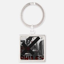 XPhiles Logo Square Keychain