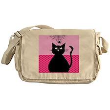 cat and spider duvet 1 Messenger Bag