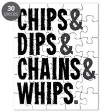Chips Dips Chains and Whips Puzzle