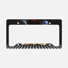 Between the Lines License Plate Holder