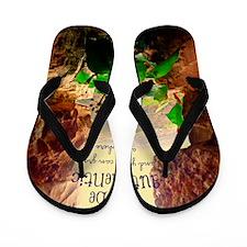 Be Authentic Flip Flops