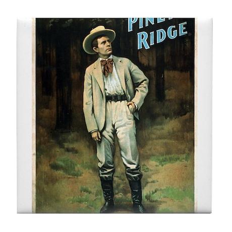 At Piney Ridge - Strobridge - 1897 Tile Coaster