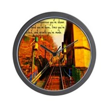 Its all about the journey. Wall Clock