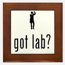 Lab-Technician-02-A Framed Tile