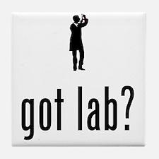 Lab-Technician-02-A Tile Coaster