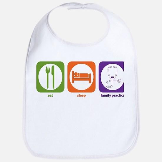 Eat Sleep Family Practice Bib