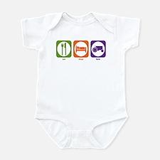 Eat Sleep Farm Infant Bodysuit