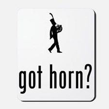 Marching-Band---French-Horn-02-A Mousepad
