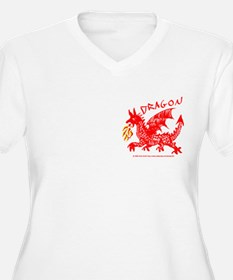 Red Gestural Dragon T-Shirt