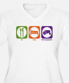 Eat Sleep Farm Equipment T-Shirt