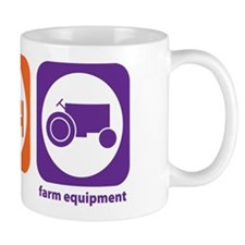 Eat Sleep Farm Equipment Mug