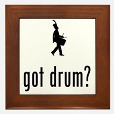 Marching-Band---Snare-Drum-02-A Framed Tile