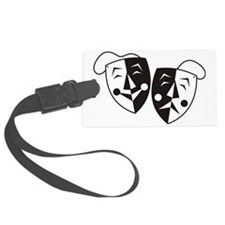 Comedy and Tragedy Masks Luggage Tag